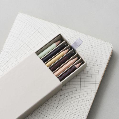 MONOGRAPH / Sada ceruziek v krabičke Office - 6ks