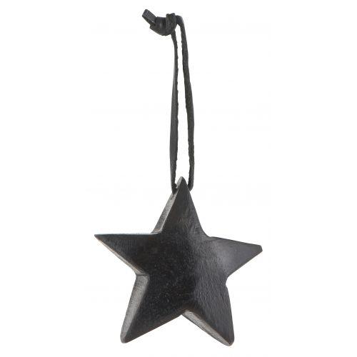 IB LAURSEN / Drevená hviezdička Black