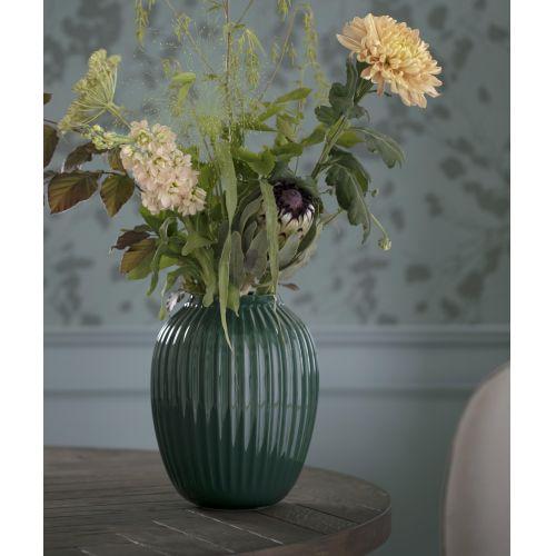 KÄHLER / Keramická váza Hammershøi Green 25 cm