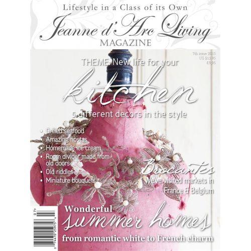 Jeanne d'Arc Living / Časopis Jeanne d'Arc Living 7/2015 - anglická verze