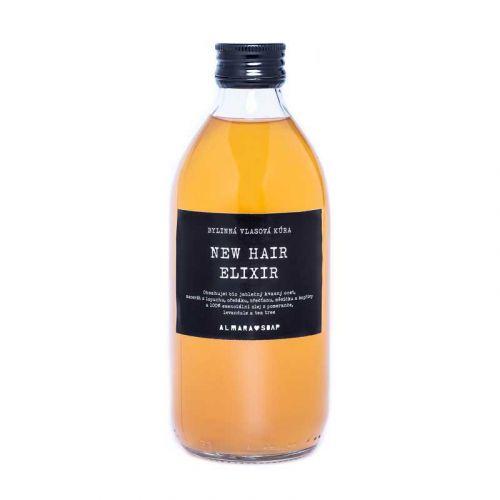 Almara Soap / Bylinková vlasová kúra New Hair Elixir 300 ml