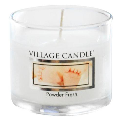 VILLAGE CANDLE / Mini sviečka Village Candle - Powder Fresh