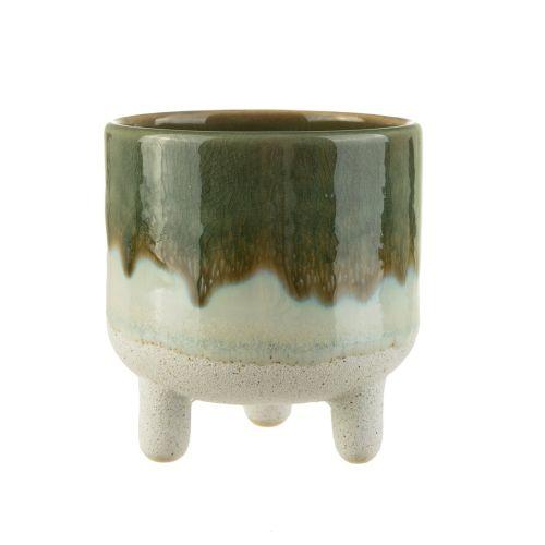 sass & belle / Keramický obal na kvetináč Mojave Green Glaze