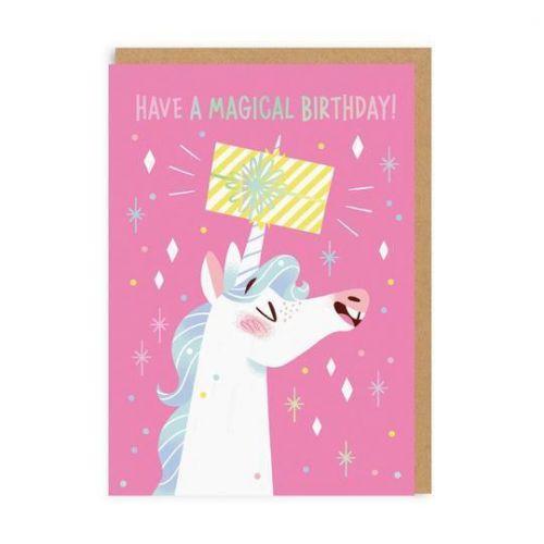 Ohh Deer / Prianie k narodeninám Unicorn