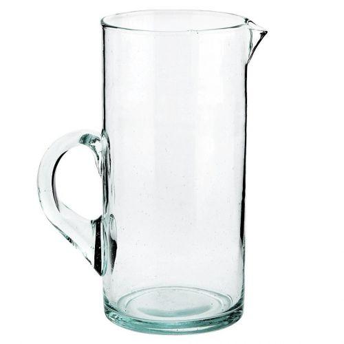MADAM STOLTZ / Džbán z recyklovaného skla Beldi Clear