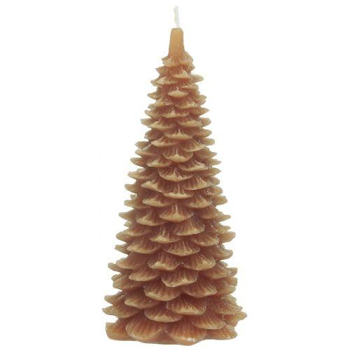 IB LAURSEN / Vianočná sviečka Christmas Tree Orange 20 cm