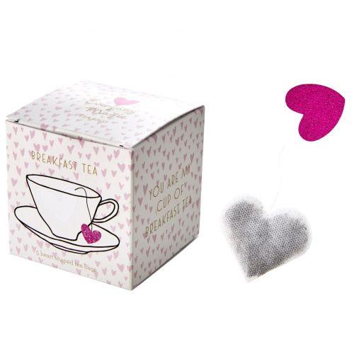 rice / Čierny čaj Breakfast Tea Heart - 5 sáčkov
