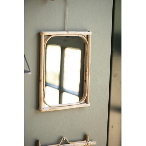IB LAURSEN / Zrkadlo v bambusovom ráme edge