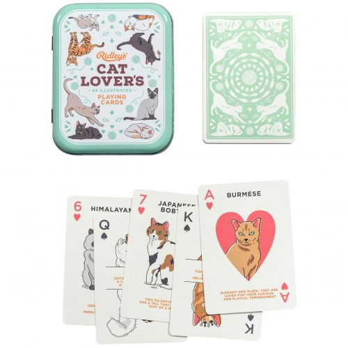Ridley's Games Room / Kartová hra Cat Lover's Playing Cards