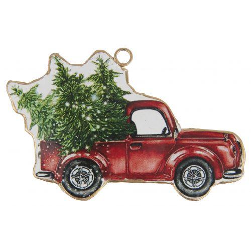 IB LAURSEN / Vianočná ozdoba Vintage Red Ford