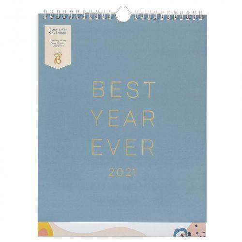 Busy B / Nástenný kalendár Busy Life 2021