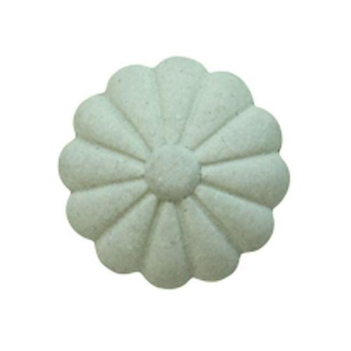 Chic Antique / Cementová úchytka Verte Flower 3 cm