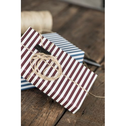 IB LAURSEN / Baliaci papier Burgundy Wide - 10m (úzky)