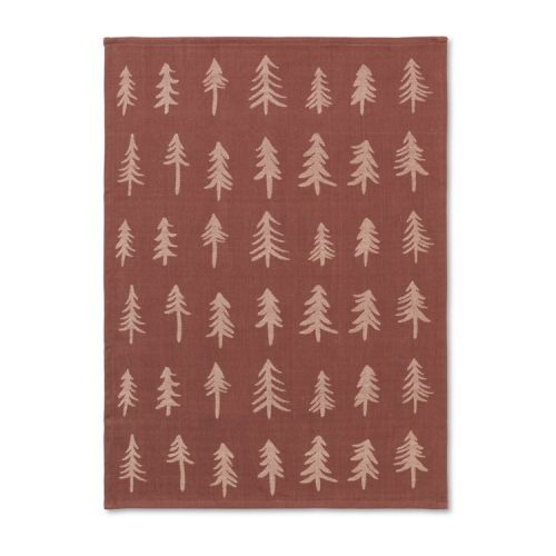 ferm LIVING / Vianočná bavlnená utierka Cinnamon Tree