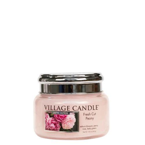 VILLAGE CANDLE / Sviečka Village Candle - Fresh Cut Peony 262g
