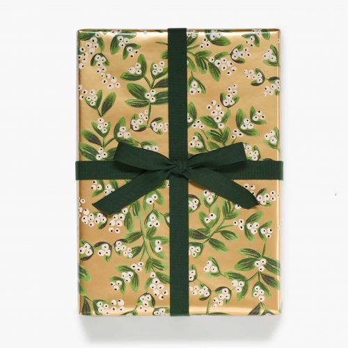 Rifle Paper Co. / Baliaci papier Mistletoe Gold 76x240