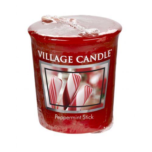 VILLAGE CANDLE / Votívna sviečka Village Candle - Peppermint Stick