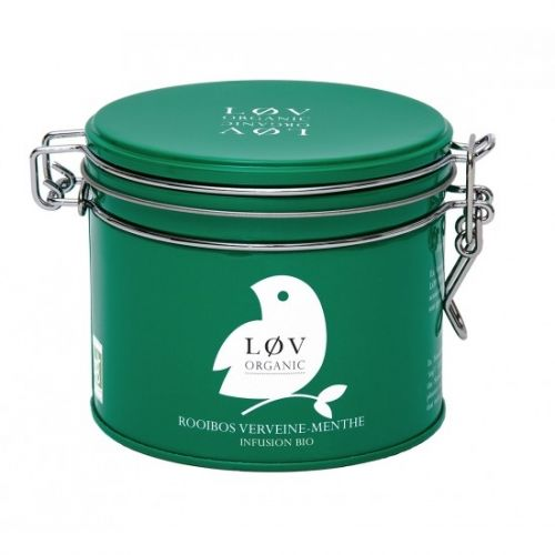 Løv Organic / Rooibos čaj Verbena Mint - 80 g