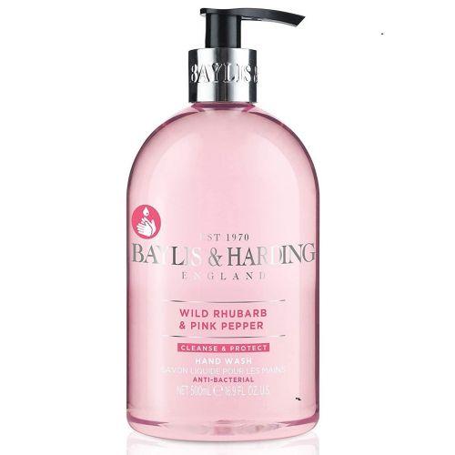 Baylis & Harding / Antibakteriálne tekuté mydlo Wild Rhubarb & Pink Pepper