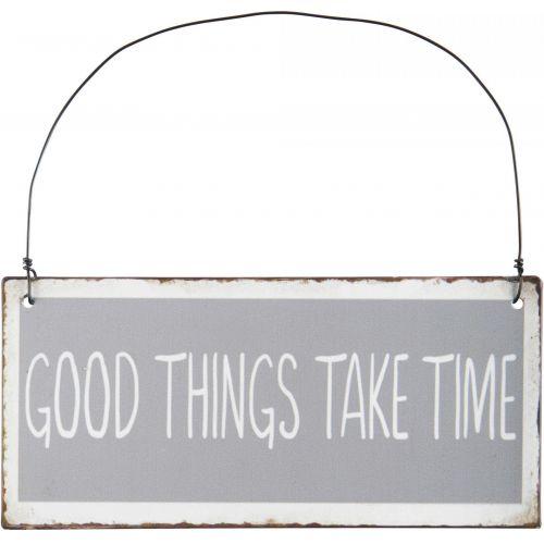 IB LAURSEN / Plechová ceduľka Good Things