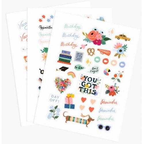 Rifle Paper Co. / Samolepky do diára Everyday Sticker - Set 3 archov