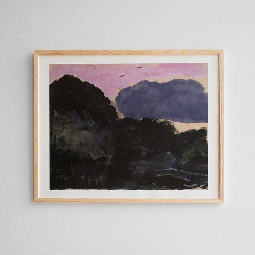Fine Little Day / Autorský plagát Cloud 50x40 cm