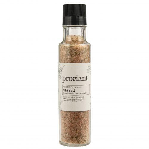 Proviant / Morská soľ s údenou paprikou a rozmarínom v mlynčeku 300 g