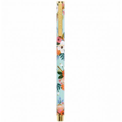 Rifle Paper Co. / Kovové guličkové pero s florálnym motívom Summer Meadow