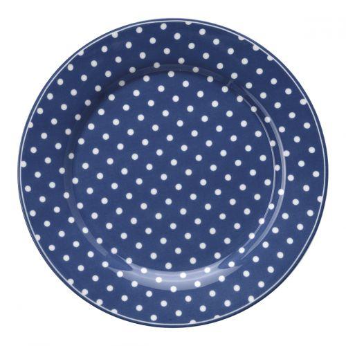 GREEN GATE / Porcelánový tanier Spot Blue