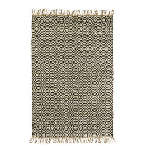 MADAM STOLTZ / Ručne tkaný jutový koberec 180x120 cm