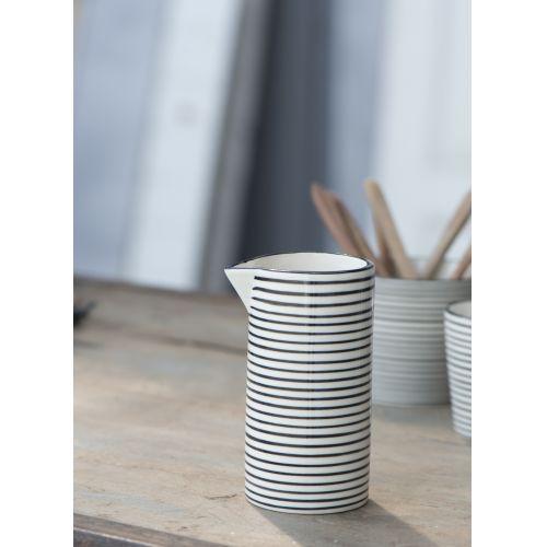 IB LAURSEN / Džbánik Casablanca black stripe 200 ml