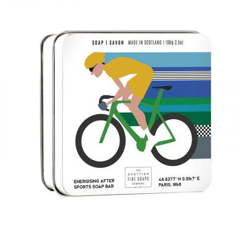 SCOTTISH FINE SOAPS / Mydlo v plechovej krabičke Cyklista - 100 g