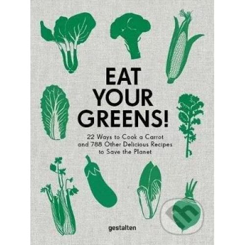/ Kniha - Eat Your Greens, Anette Dieng & Ingela Persson