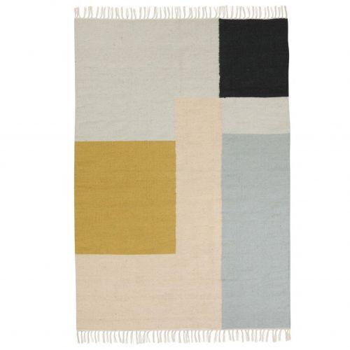 ferm LIVING / Vlnený koberec Squares