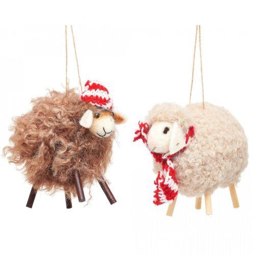 sass & belle / Plstená vianočná ozdoba Sheep