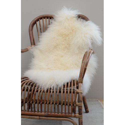 IB LAURSEN / Tibetská ovčia kožušina Natural white