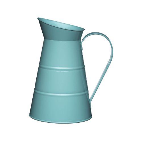 Kitchen Craft / Plechový džbán Vintage Blue 2,3 l