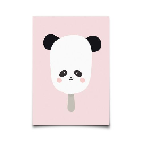 EEF lillemor / Pohlednice Ice-cream Panda A6