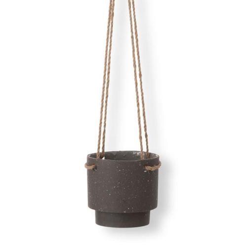 ferm LIVING / Závesný keramický obal na kvetináč Plant Hanger