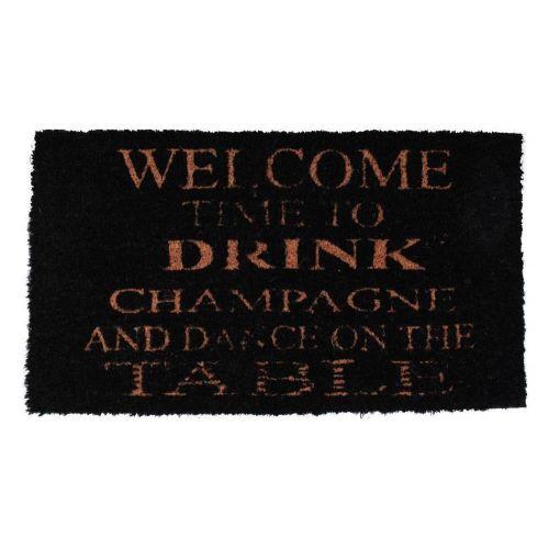La finesse / Rohožka Drink champagne 40x70 cm