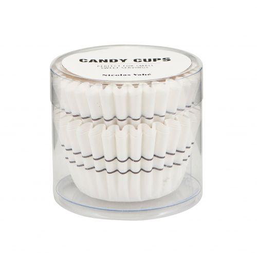 Nicolas Vahé / Mini papierové košíčky Stripe - 48 ks
