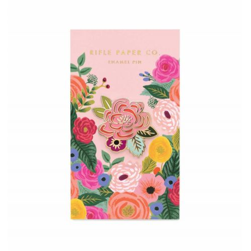 Rifle Paper Co. / Kovový odznáček Juliet Rose