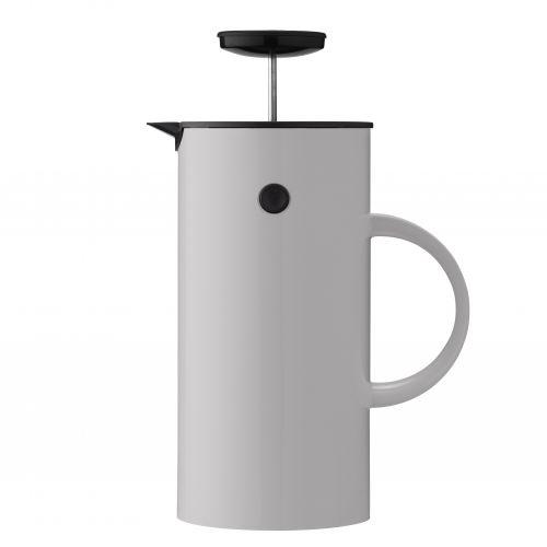 Stelton / French press kanvica na kávu EM77 Light grey