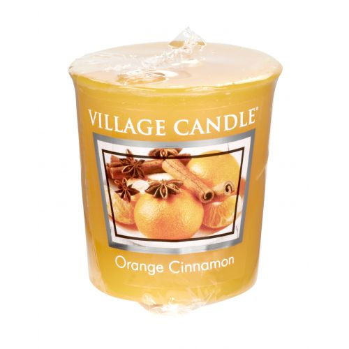 VILLAGE CANDLE / Votívna sviečka Village Candle - Orange Cinnamon