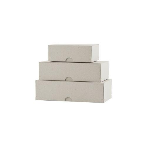 d31321ed8 MONOGRAPH / Papierové krabičky Cardboard - set 3 ks ...