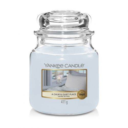 Yankee Candle / Sviečka Yankee Candle 411gr - A Calm & Quiet Place