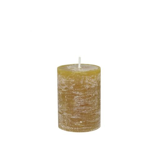 Chic Antique / Sviečka Rustik Mustard 10 cm