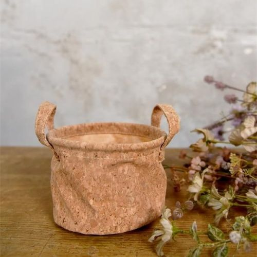 Jeanne d'Arc Living / Korkový obal na kvetináč Ø14 cm