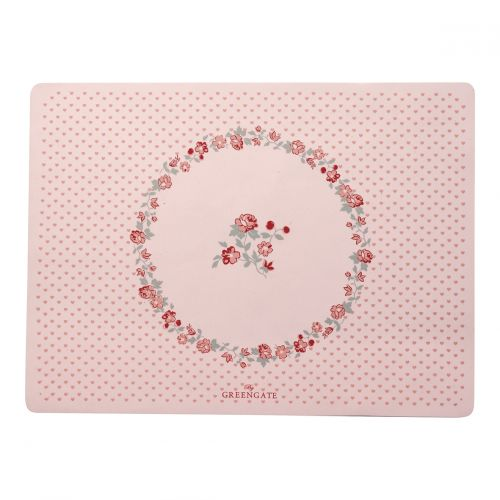 GREEN GATE / Detské silikónové prestieranie Ruby Petit Pale Pink