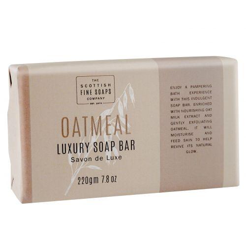 SCOTTISH FINE SOAPS / Luxusné peelingové mydlo Oatmeal 220 gr